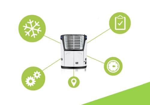praćenje rashladnih uređaja -  carrier