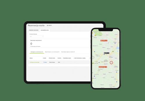 Rezervacije vozila preko mobilnih i desktop platforma