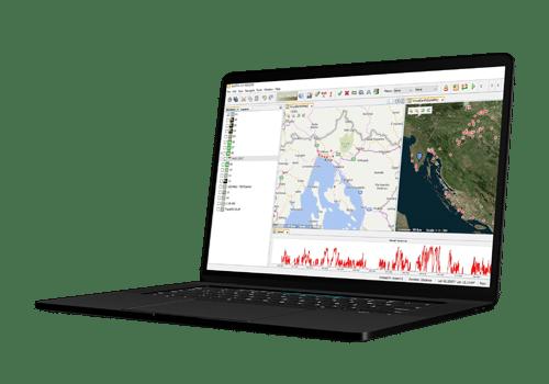 gis i geolociranje na digitalnim kartama sustava za gps praćenje vozila