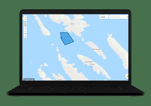praćenje geozona plovidbe