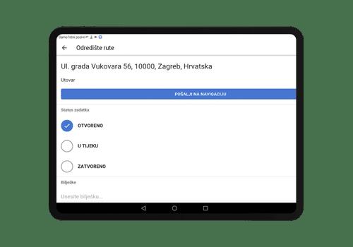 driverlink tablet - radni nalozi