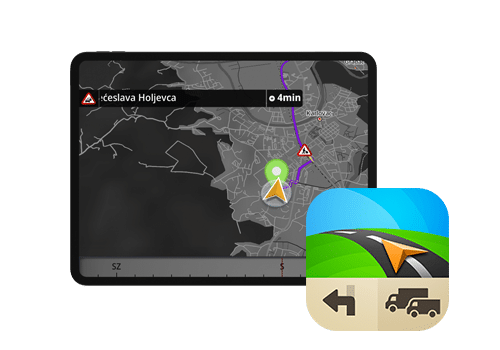 sdash tablet - kamionska navigacija