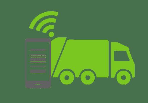 elektronička evidencija prikupljanja otpada  - očitavanje posuda za otpad