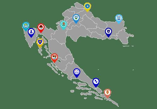 Fmlc servisna mreža u Republici Hrvatskoj