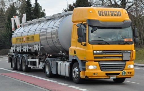 Bertschi AG prevozi opasne tvari